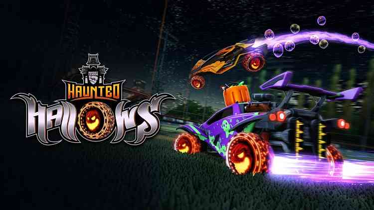 Haunted Hallows event live in Rocket League