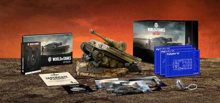 World of Tanks Collectors Edition Retail Release