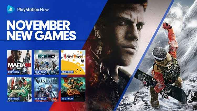 Playstation Now adds 11 new games