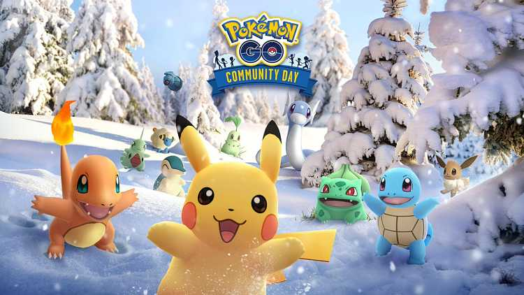 Pokémon Go's Winter Community Day Begins