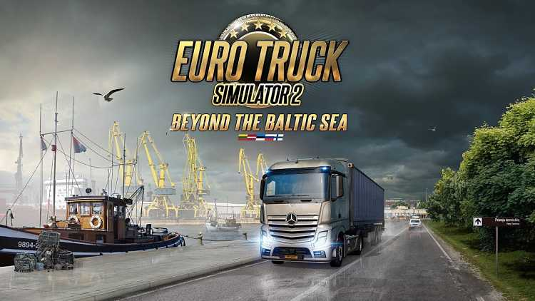 Euro Truck Simulator 2 Baltic Sea DLC