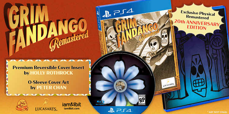 Classic quirky adventure, Grim Fandango, now available on Switch