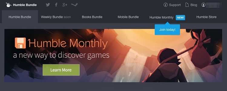 Humble Monthly for November-December 2018
