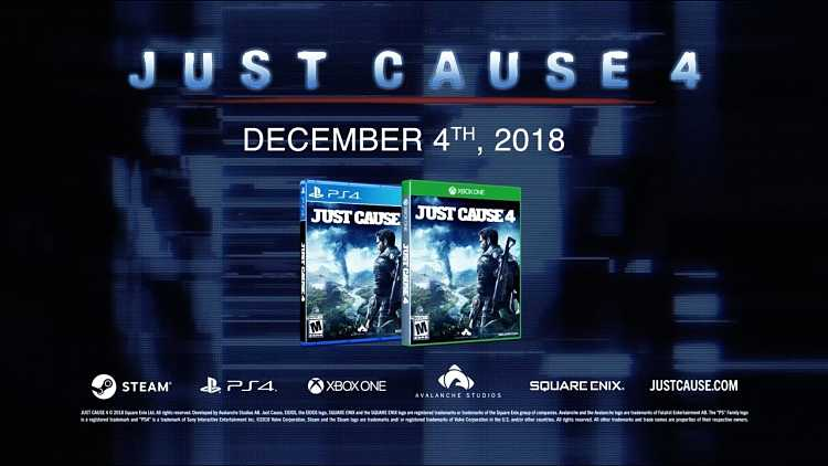 Just Cause 4 Decades of Action Trailers
