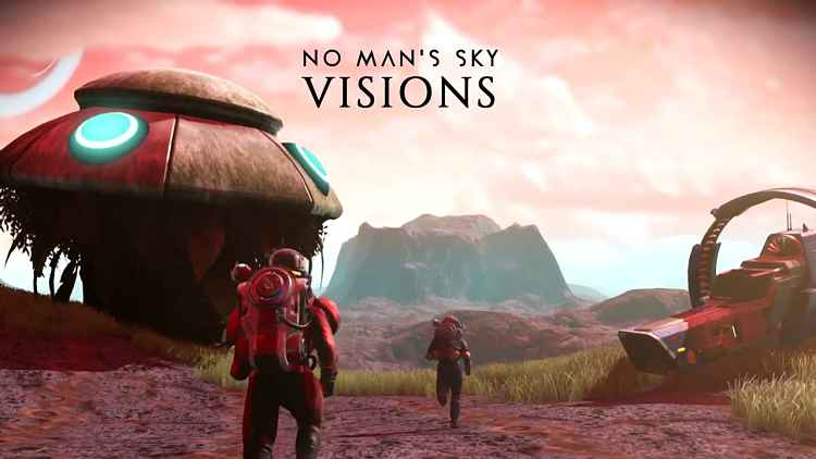 No Man's Sky Visions update announced, adds new alien content