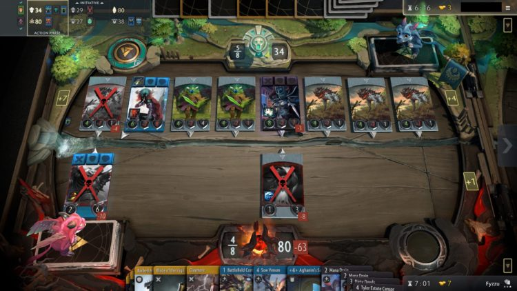 Valve's Artifact continues to struggle, barely hitting 1,000 concurrent players