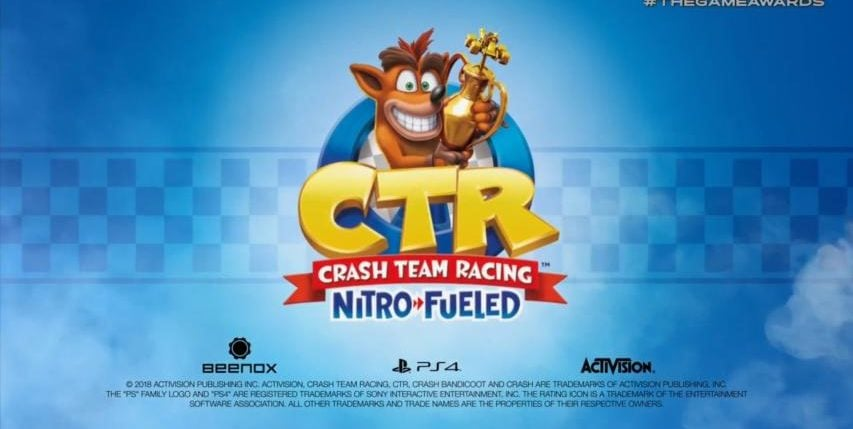 Crash Team Racing Nitro-Fueled Confirmed