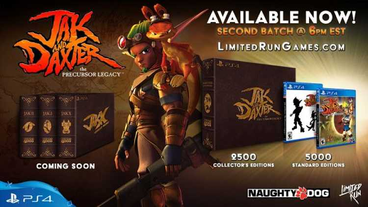 Jak and Daxter: The Precursor Legacy Collectors Editions announced for PS4