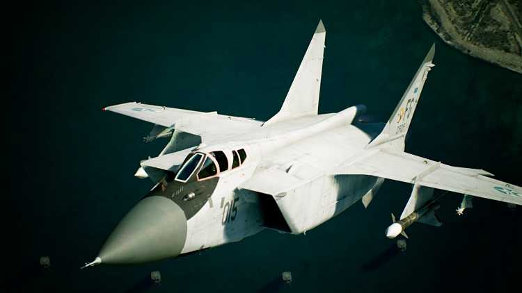 Next Ace Combat 7: Skies Unknown highlights MiG-31B in new trailer