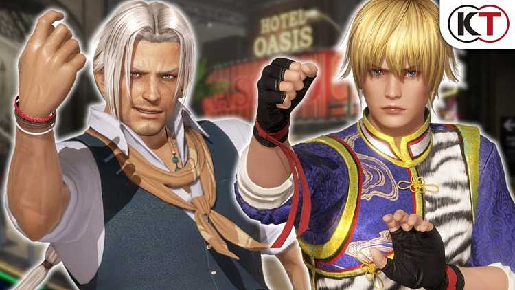 Brad Wong and Eliot are in Dead or Alive 6