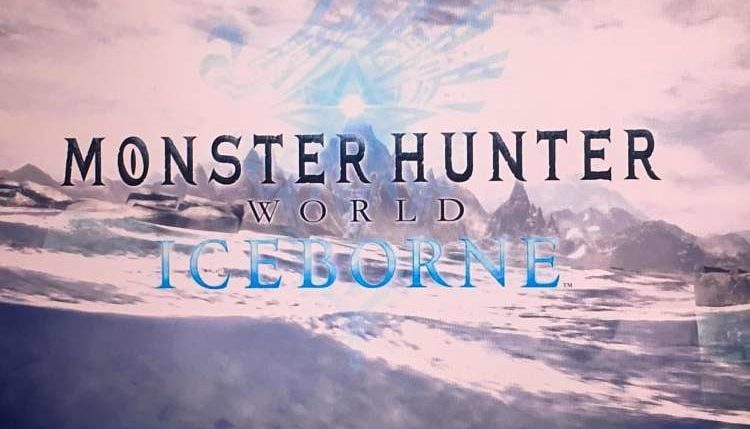 Monster Hunter World Iceborne Announced