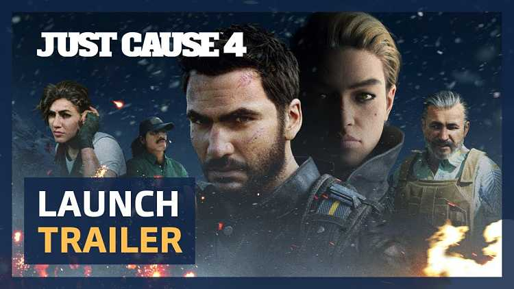 Just Cause 4 launch trailer shows even more of a badass Rico