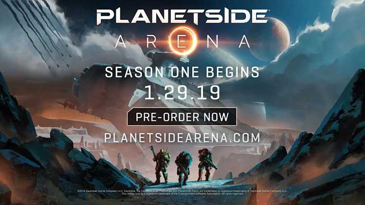 Daybreak Games announced Planetside Arena, may include 1,000 player battles