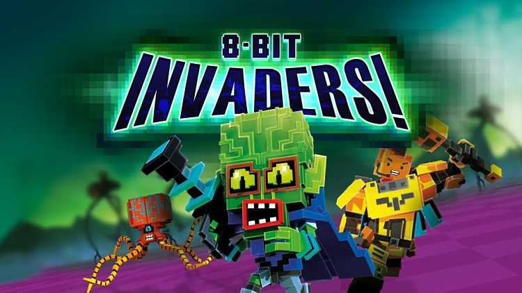 8-Bit Invaders! Gameplay Trailer