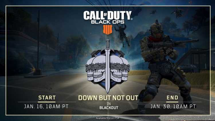 Call of Duty: Black Ops 4's Down But Not Out Mode Gets New Trailer