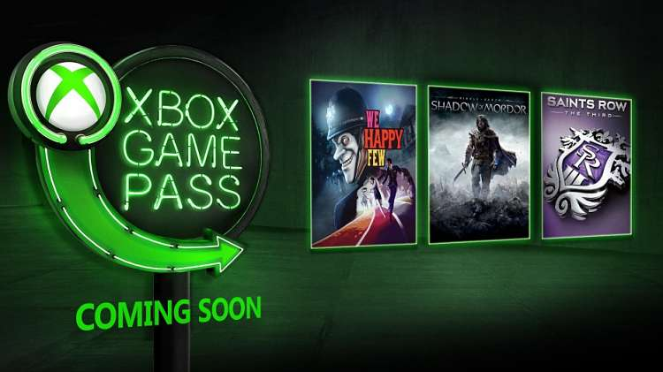 Xbox Game Pass: We Happy Few, Middle-earth: Shadow of Mordor, The LEGO Movie Videogame, and More