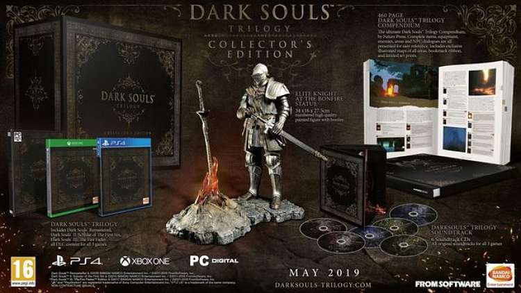 Dark Souls Trilogy Collector's Edition revealed for Europe