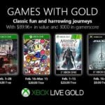 Free Xbox One Games With Gold Titles For February 2019 Revealed