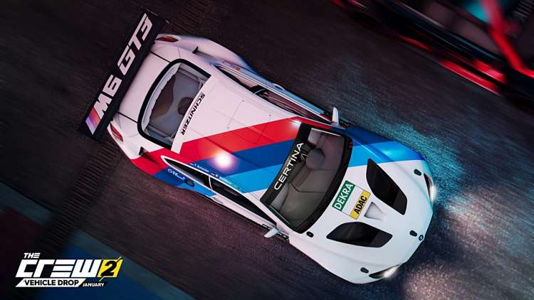 The Crew 2's new vehicle drop brings more BMW and Mercedes cars to the track