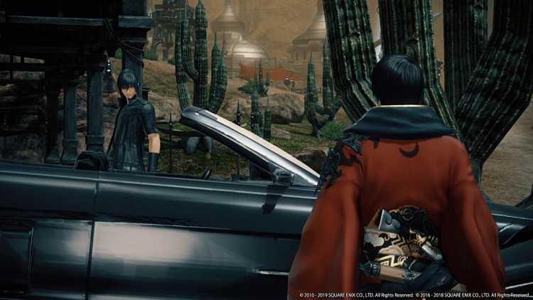 Final Fantasy XV and Final Fantasy XIV Crossover April 2019