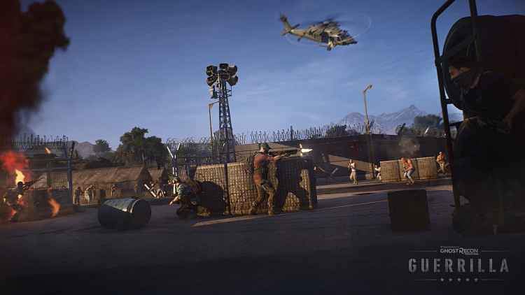 Ubisoft Teases Ghost Recon Wildlands PvE Update