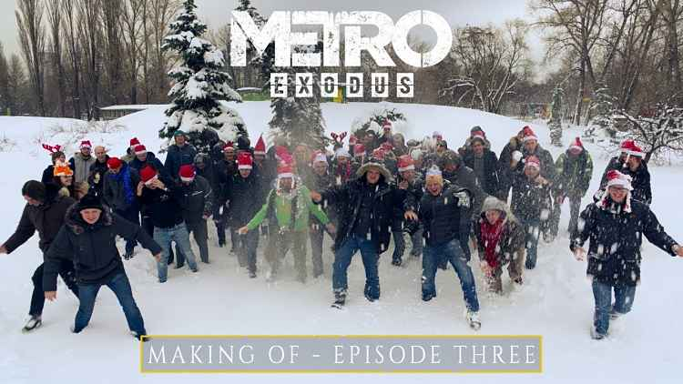 Final episode of the making of Metro Exodus released