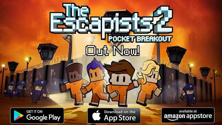 The Escapists 2: Pocket Breakout is now out