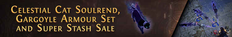 Path of Exile plays cat and mouse with new MTX, announces Stash Tab sale