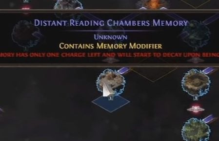 POE Synthesis Memory Nexus Guide Memory Modifier