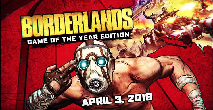 Borderlands Games Remastered Editions Announced