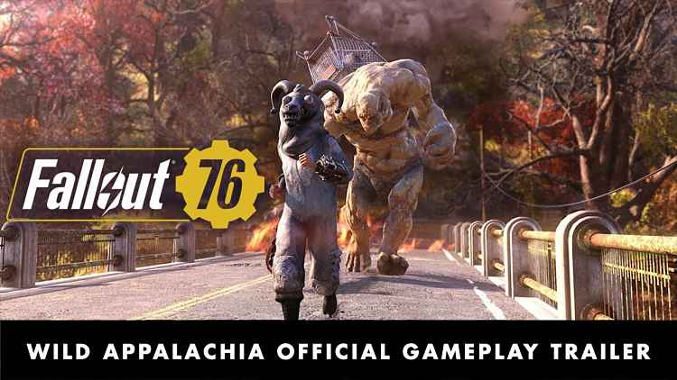 Fallout 76 Wild Appalachia Trailer and Patch Notes