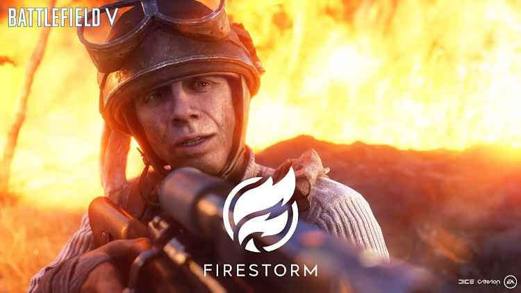 Battlefield V's Firestorm Battle Royale Trailer