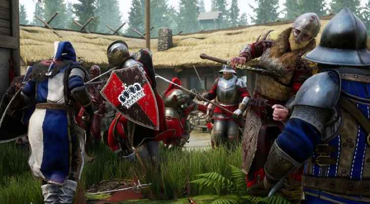 first-person melee game, Mordhau comes out soon