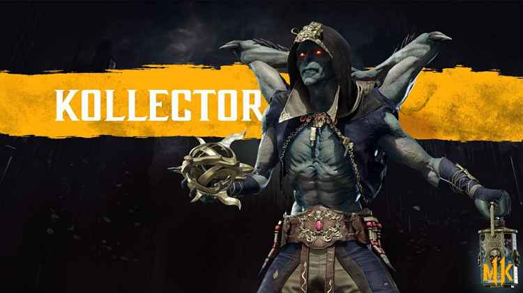 Mortal Kombat 11 announces another new fighter, The Kollector