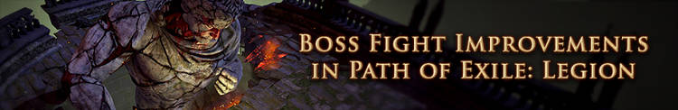 GGG teases boss fight changes in Path of Exile: Legion