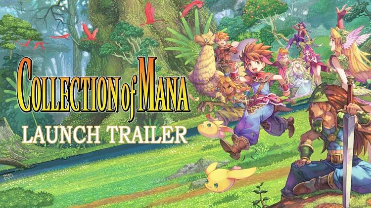 Collection of Mana is out for Switch today