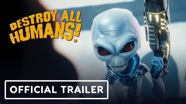 Check out the first gameplay of the Destroy All Humans! Remake
