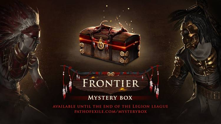 GGG announces new mystery box, journey to the Frontier in Path of Exile