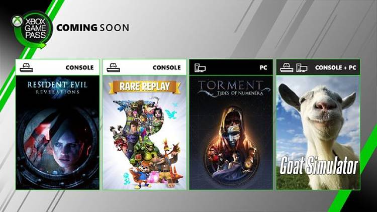 Xbox Games Pass adds Rare Replay and Resident Evil: Revelations