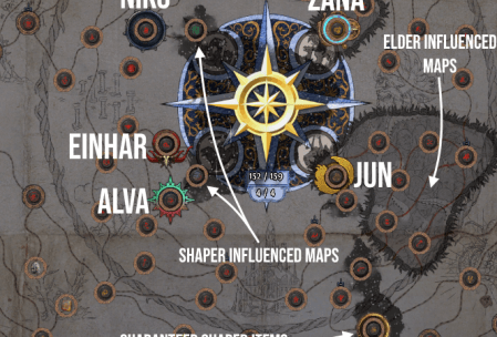 Atlas of Worlds and Map Guide (POE Blight 3 8)   ISK Mogul