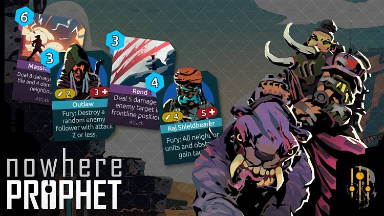 Roguelike deck-builder, Nowhere Prophet, is out now