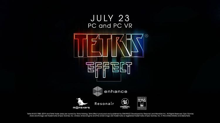 Tetris Effect PC port headed for Epic Games Store
