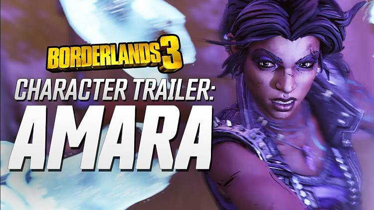 Borderlands 3 Amara the Siren Trailer