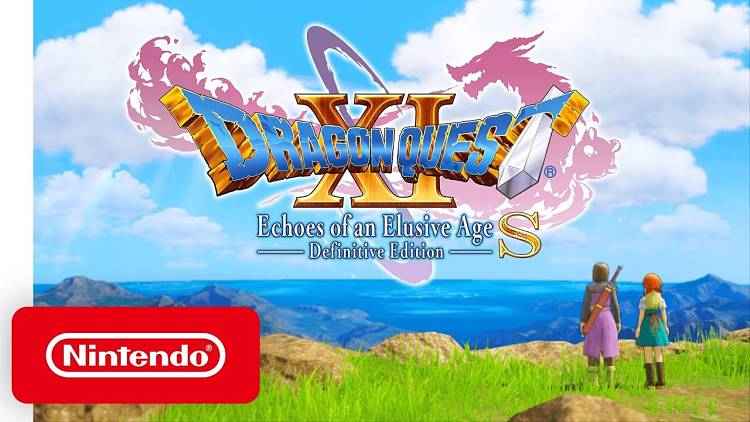 Dragon Quest 11 Switch trailer shows off the world