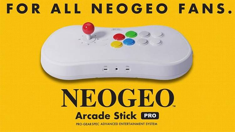 SNK reveals Arcade Stick Pro with 20 classic fighting games