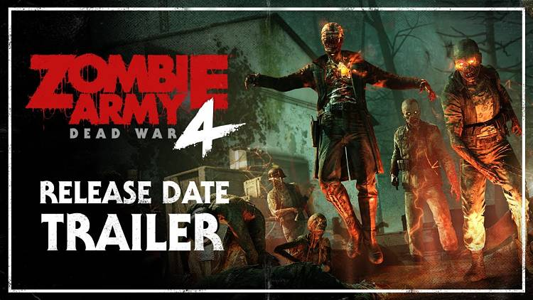 Zombie Army 4: Dead War is coming to the PC on February 4th 2020