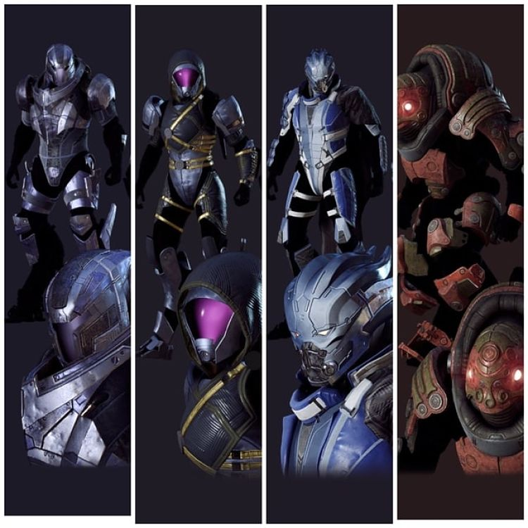 Anthem gets Mass Effect skins to celebrate N7 Day