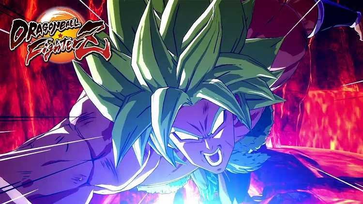 Dragon Ball FighterZ Adds Broly (DBS) in December