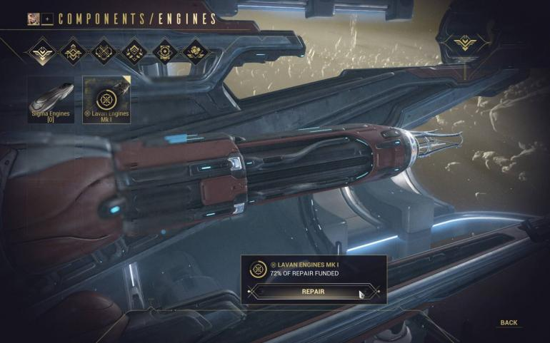 How To Repair Wreckage For Your Railjack In Warframe