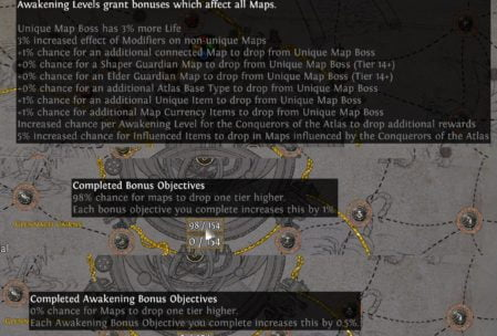 Awakening System in Conquerors of the Atlas
